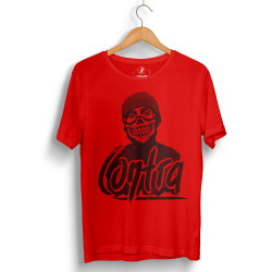 Outlet - HH - Contra Portre Kırmızı T-shirt (Seçili Ürün)