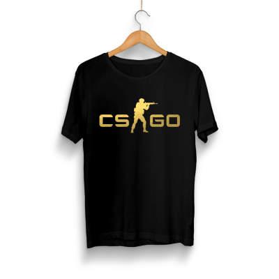 HH - CS:GO Gold Siyah T-shirt (Seçili Ürün)