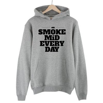 İndirim - HH - CS:GO Smoke Mid Gri Cepli Hoodie (Fırsat Ürünü)