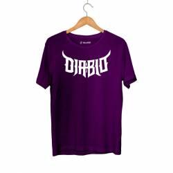 Outlet - HH - Diablo 63 Mor T-shirt Tişört (Fırsat Ürünü)
