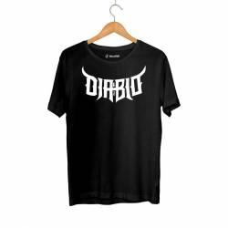Outlet - HH - Diablo 63 Siyah T-shirt Tişört (Fırsat Ürünü)