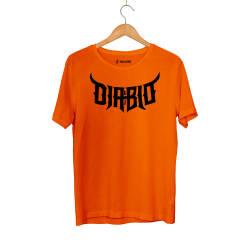 Outlet - HH - Diablo 63 Turuncu T-shirt (Fırsat Ürünü)