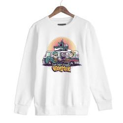 DJ Artz - HH - DJ Artz Pavyon Beyaz Sweatshirt