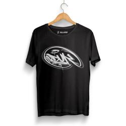 Outlet - HH - Dukstill Duk Logo Siyah T-shirt (Seçili Ürün)