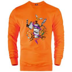 HH - Dukstill Duk Tattoo Sweatshirt - Thumbnail