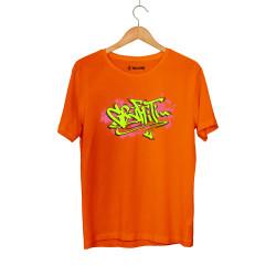 DukStill - HH - Dukstill Graffiti Turuncu T-shirt