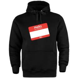 HH - Dukstill Hello Sticker Cepli Hoodie - Thumbnail