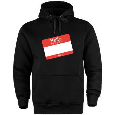 HH - Dukstill Hello Sticker Cepli Hoodie