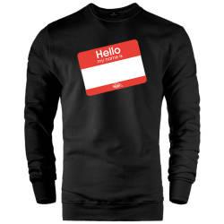 DukStill - HH - Dukstill Hello Sticker Sweatshirt