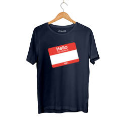 HH - Dukstill Hello Sticker T-shirt - Thumbnail