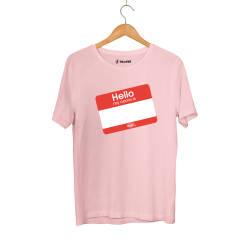 Outlet - HH - Dukstill Hello Sticker T-shirt (Fırsat Ürünü)