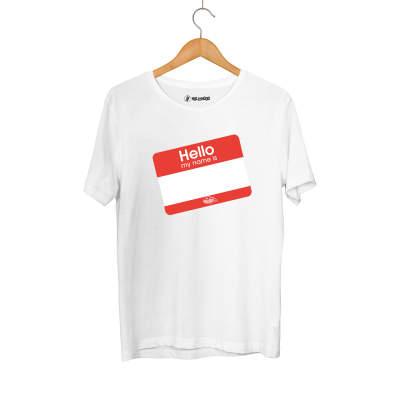 HH - Dukstill Hello Sticker T-shirt (Fırsat Ürünü)
