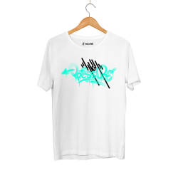 Outlet - HH - Dukstill Turkuaz High Pressure Beyaz T-shirt (Fırsat Ürünü)