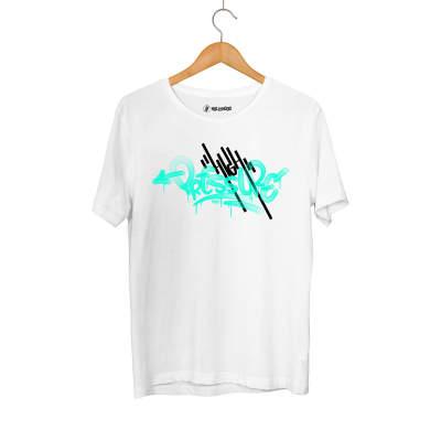 HH - Dukstill Turkuaz High Pressure Beyaz T-shirt (Fırsat Ürünü)
