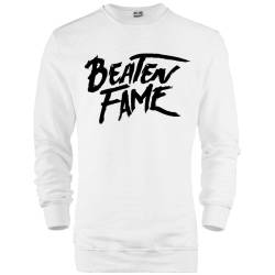 E.O. Beatenfame - HH - Elçin Orçun Beaten Fame Text Sweatshirt