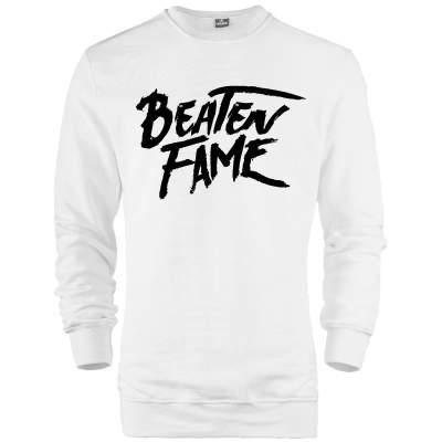 HH - Elçin Orçun Beaten Fame Text Sweatshirt