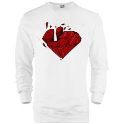 HH - Elçin Orçun Red Diamond Sweatshirt - Thumbnail