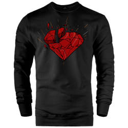 E.O. Beatenfame - HH - Elçin Orçun Red Diamond Sweatshirt