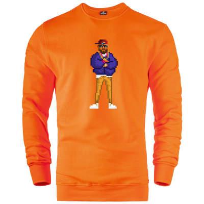 HH - Empire Hustla 8Bit Sweatshirt (Fırsat Ürünü)