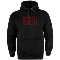 İndirim - HH - Ezhel Red Cepli Hoodie (Fırsat Ürünü)