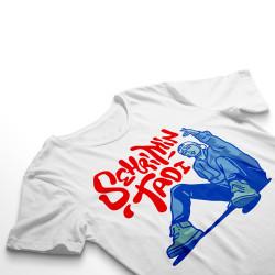 Ezhel - HH - Ezhel Şehrimin Tadı Beyaz T-shirt (Outlet)