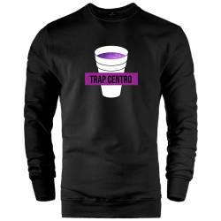 İndirim - HH - FEC Trap Centro Siyah Sweatshirt (Fırsat Ürünü)