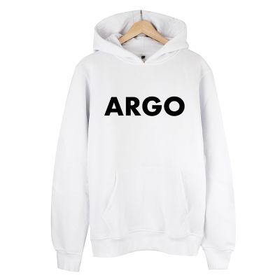 HH - Gazapizm Argo Beyaz Cepli Hoodie (Fırsat Ürünü)