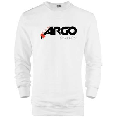 HH - Gazapizm Argo İzmir Beyaz Sweatshirt (Fırsat Ürünü)