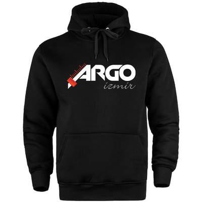 HH - Gazapizm Argo İzmir Siyah Cepli Hoodie (Fırsat Ürünü)