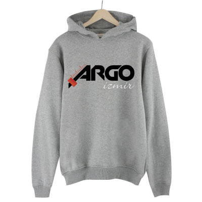 HH - Gazapizm Argo İzmir Gri Cepli Hoodie (Fırsat ürünü)