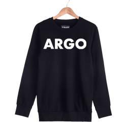 İndirim - HH - Gazapizm Argo Siyah Sweatshirt (Fırsat ürünü)