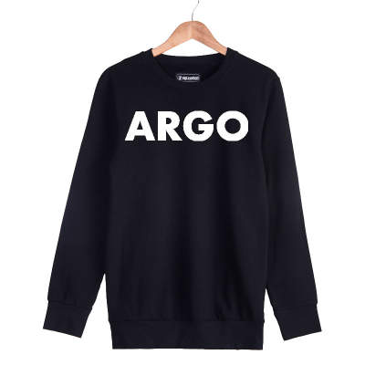 HH - Gazapizm Argo Siyah Sweatshirt (Fırsat ürünü)