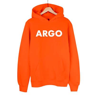 HH - Gazapizm Argo (B) Turuncu Cepli Hoodie (Fırsat ürünü)