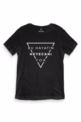 HH - Gazapizm Heyecanı Yok Siyah T-shirt (Seçili Ürün)