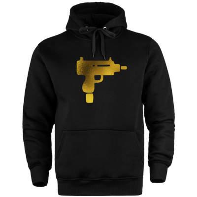 HH - Gold Uzi Cepli Hoodie (Fırsat Ürünü)