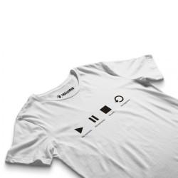 HH - Groove Street Play Beyaz T-shirt (Seçili Ürün) - Thumbnail