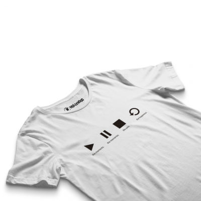 HH - Groove Street Play Beyaz T-shirt (Seçili Ürün)