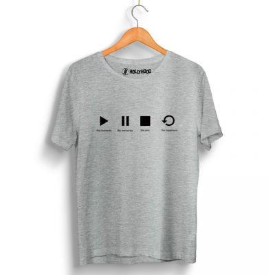 HH - Groove Street Play Gri T-shirt (Seçili Ürün)