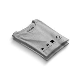 HH - Groove Street Play Gri T-shirt (Seçili Ürün) - Thumbnail