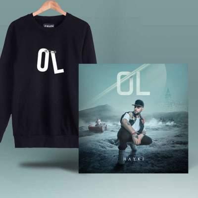 HH - Hayki Ol Siyah Sweatshirt + Albüm (Özel Paket)