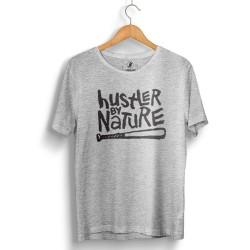 Outlet - HH - Hustler By Nature Gri T-shirt (Seçili Ürün)