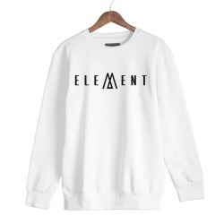 Joker - HH - Joker Element Beyaz Sweatshirt