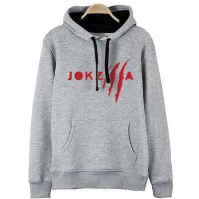 HH - Joker Jokzilla Gri Cepli Hoodie ( Fırsat Ürünü)
