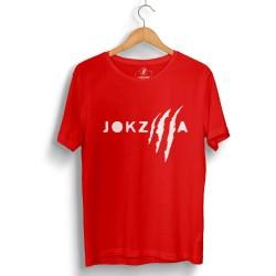 Outlet - HH - Joker Jokzilla Kırmızı T-shirt (Seçili Ürün)