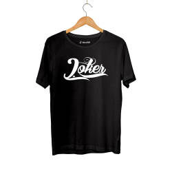 Outlet - HH - Joker Logo Siyah T-shirt (Seçili Ürün)