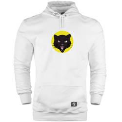 HH - Jora Black Cat Cepli Hoodie - Thumbnail
