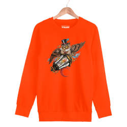 Jora - HH - Jora Owl Turuncu Sweatshirt