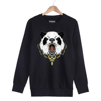 HH - Jora Panda Siyah Sweatshirt (Fırsat Ürünü)