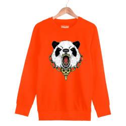Jora - HH - Jora Panda Turuncu Sweatshirt
