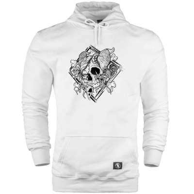 HH - Jora Rebirth Beyaz Cepli Hoodie (Fırsat ürünü)